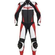 Furygan Full Apex 1 piece Leather suit red